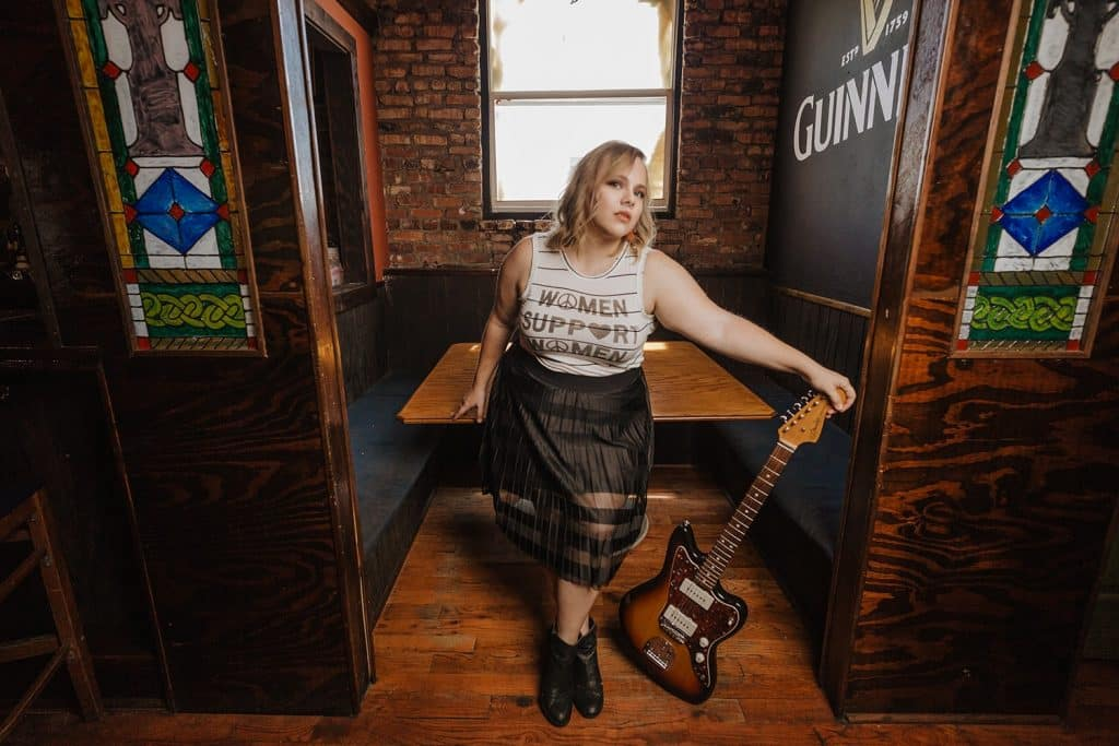 claire liparulo free coasters with guitar at celtic ray pub house