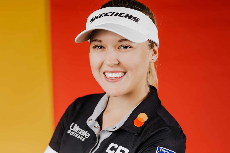 editorial headshot of brooke henderson LPGA golfer