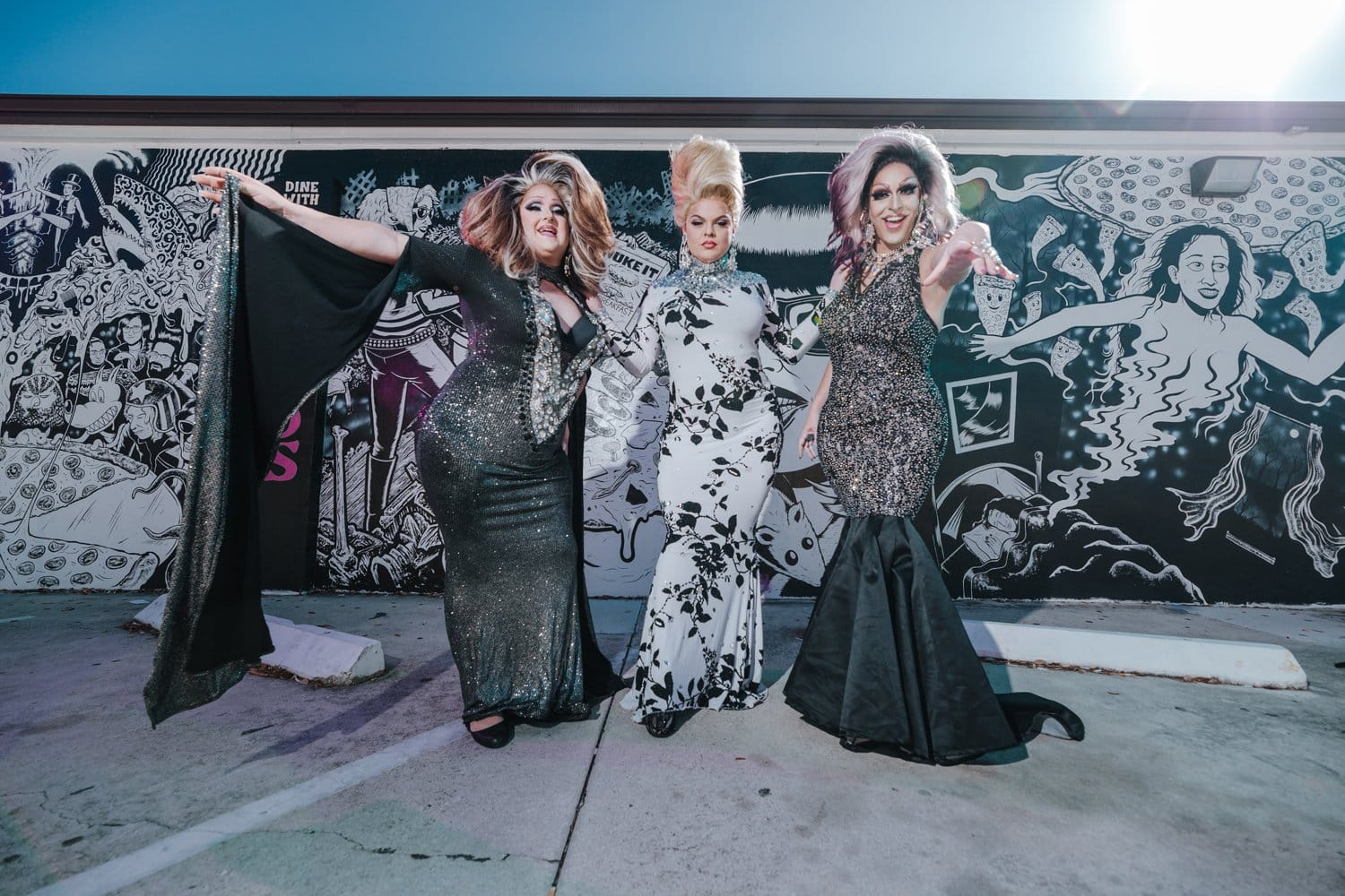 drag queens cape coral nice guys pizza