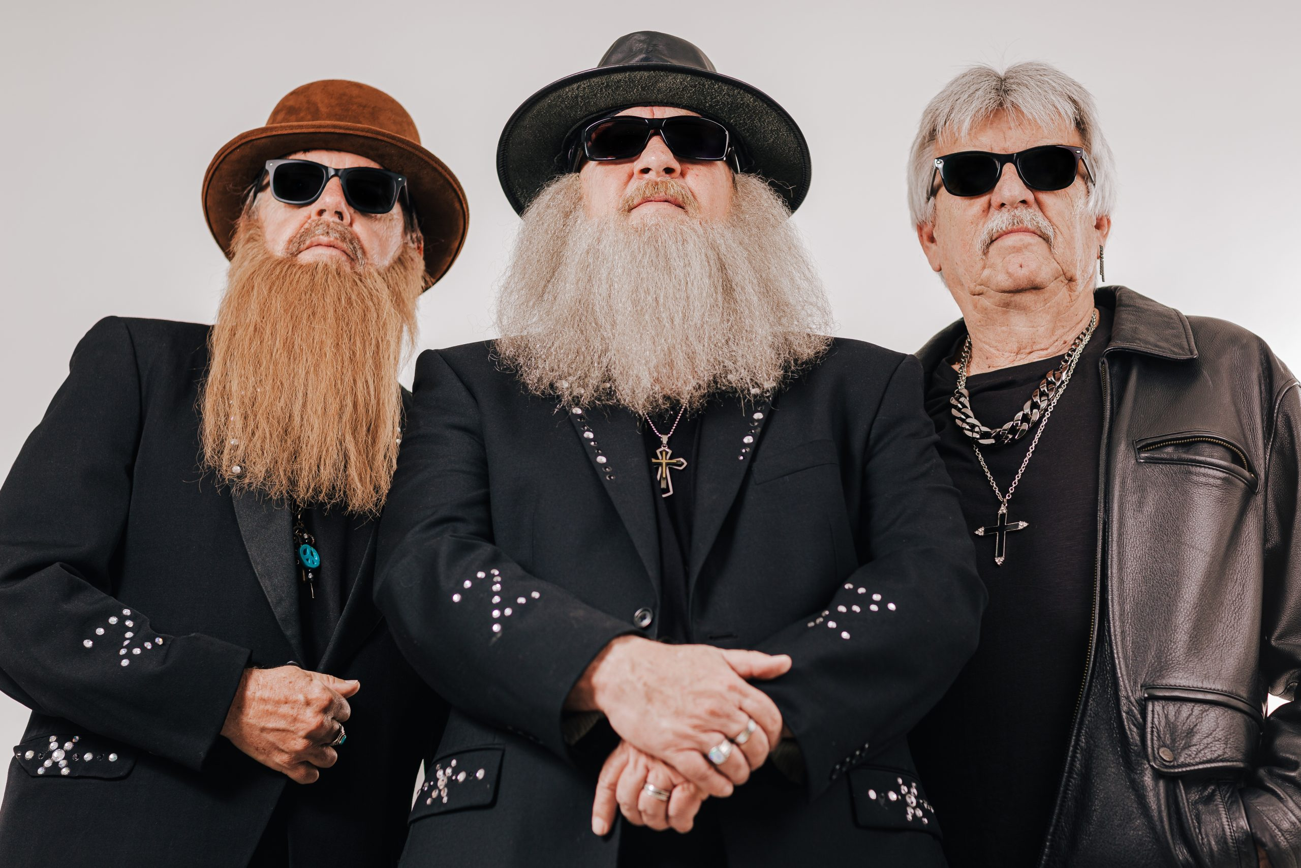 zz top cover band promo photo