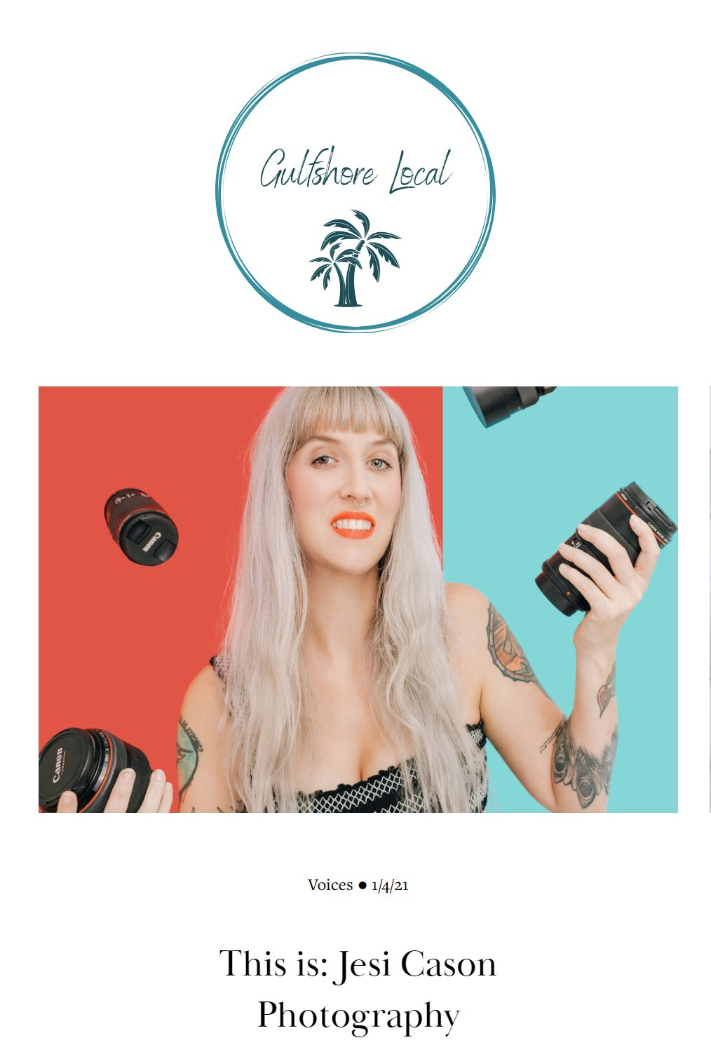 gulfshore local podcast blog interview with Jesi Cason